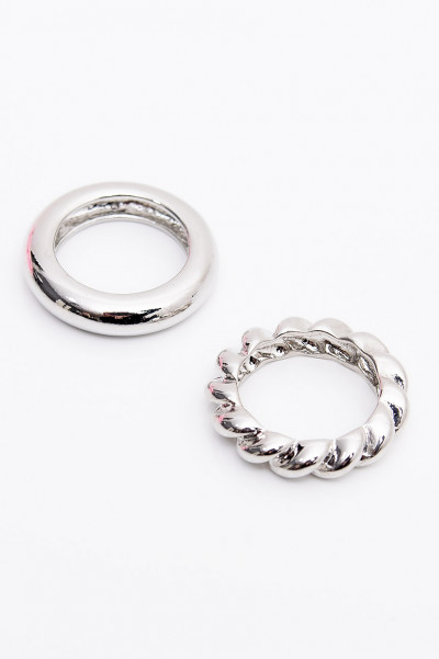 Ring - Chunky Silver