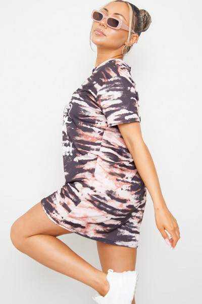 Young And Rebel Tie Dye Dress