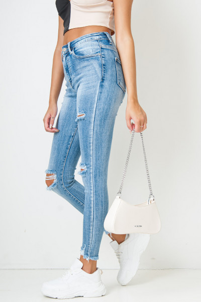 Tap Out High Waisted Jeans