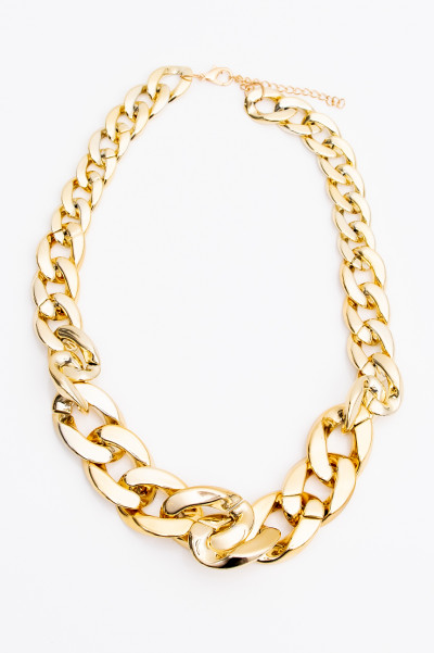 Unbreakable Chunky Gold Necklace