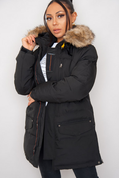 Great Expectations Black Hooded Jacket