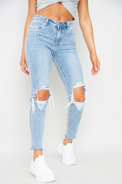Must Have Ripped Slim Fit Jeans